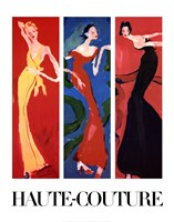Haute-Couture IV (Three Up) Fine-Art Print
