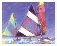 Saucy Sails Fine-Art Print