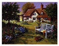 Garden Scene Fine-Art Print