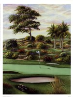 #4 Breezy Green At Emerald Dunes Fine-Art Print