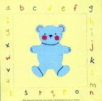 Alphabet Animals I Fine-Art Print