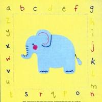 Alphabet Animals II Fine-Art Print