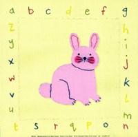 Alphabet Animals III Fine-Art Print