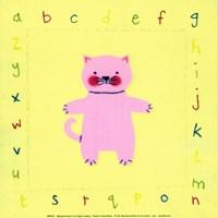 Alphabet Animals IV Fine-Art Print