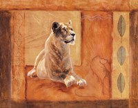 Lioness in Thought Fine-Art Print