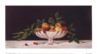 Fruit In An Oval Of Silver Fine-Art Print