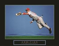 Ambition - Baseball Player Fine-Art Print