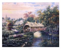 Pheasant River Bridge Fine-Art Print