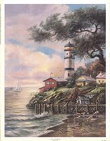Beacon Light Bay Fine-Art Print