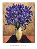 Blue Iris Bouquet Fine-Art Print