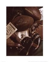Vintage Football (Sepia) Fine-Art Print