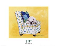 Sidney The Bull Dog (Polka Dot) Fine-Art Print