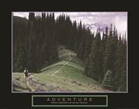Adventure - Hiker Fine-Art Print
