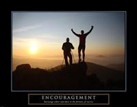 Encouragement - Climbers Fine-Art Print