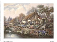 Village Of Selworthy Fine-Art Print