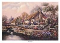 Village Of Selworthy Fine-Art Print
