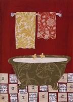Red Bath II Fine-Art Print