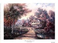 Hamlet Of Cloverdale Fine-Art Print