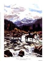 High Mountain Crossing Fine-Art Print