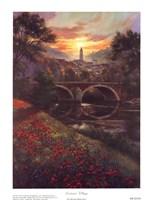 Distant Village Fine-Art Print