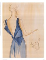 Blue Dress I Fine-Art Print
