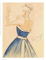 Blue Dress II Fine-Art Print