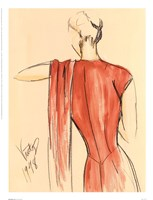 Red Dress II Fine-Art Print