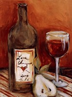 Picnic With Red Wine Fine-Art Print