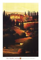 Green Hills of Tuscany I Fine-Art Print