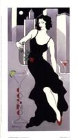 La Dame En Noire Fine-Art Print