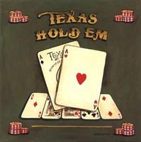 Texas Hold Em Fine-Art Print