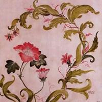 Coral Vines Fine-Art Print