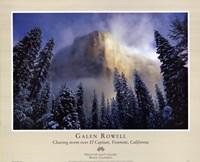 Clearing Storm, El Capitan Fine-Art Print