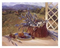 Lavender Basket Fine-Art Print