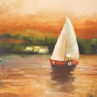 Majorcan Sail II Fine-Art Print