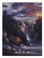 Misty Falls Fine-Art Print
