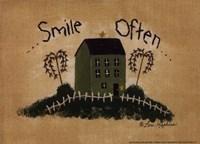 Smile Often Fine-Art Print