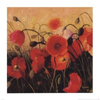 Poppy Party Fine-Art Print