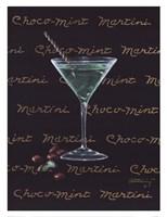 Choco-Mint Martini Fine-Art Print