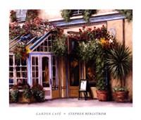 Garden Cafe Fine-Art Print