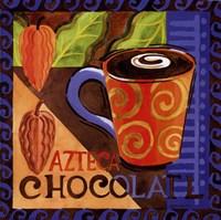 Azteca Chocolate Framed Print