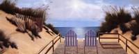 Blue Skies Panel Fine-Art Print