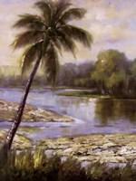 Island Tropics I Fine-Art Print