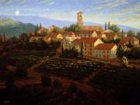 Moonrise In Tuscany Fine-Art Print