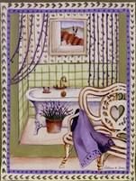 Lavander Bath Fine-Art Print