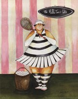 Babs First Lesson Fine-Art Print
