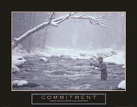 Commitment - Fisherman Fine-Art Print
