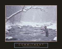 Commitment - Fisherman Fine-Art Print