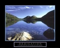 Dedication - Jordan Pond Fine-Art Print