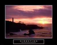 Direction - Lighthouse Fine-Art Print